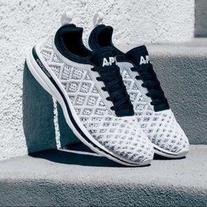 APL Techloom Phantom Sneakers in Black and White